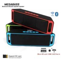 Speaker Bluetooth A2DP SC208 / Speaker Stereo Mega Bass