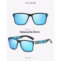 Kacamata Pria DUBERY Polarized UV400 / Sunglasses Outdoor - Blue Sea