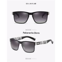 Kacamata Pria DUBERY Polarized UV400 / Sunglasses Outdoor - Grey