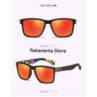 Kacamata Pria DUBERY Polarized UV400 / Sunglasses Outdoor - Orange