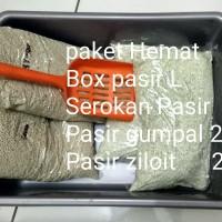 Paket Hemat ,Box ,pasir ,serokan kucing