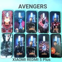 Case Xiaomi Redmi 5 Plus Motif Marvel Avengers Soft Case