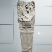 Celana Panjang Jeans Pinggang Karet/Kolor/Cargo/Pria/Wanita Hr 901