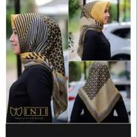 Hijab Kerudung Segi Empat DEENAY KW Pelakor Viral INJI KUNING