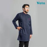 Baju Muslim Koko Kurta Pakistan Lengan Panjang Raaid Azraqu