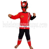 Big Sale Baju Anak Kostum Topeng Superhero Power Rangers Termurah
