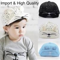 Paling Terlaris Sprinkle Baseball Hat Topi Anak Bayi Import Pet Korea