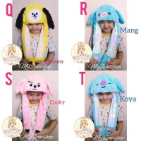 Ternama Topi Korea Led Tik Tok / Bunny Hat / Unicorn Hat /Kado Anak