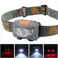 TaffLED Headlamp Flashlight Waterproof White and Red Light LED - W03
