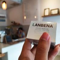 Lanbena Snail Repair Facial Cream Moisture and Brightening White