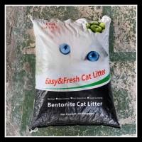 Pasir Kucing Gumpal Wangi Top Cat Litter 20Lt- Pasir Bentonite Kucing