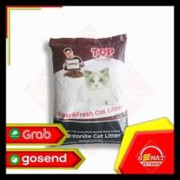 Pasir Kucing Top Cat Litter Bentonite 20 Kg / Gumpal Wangi 20Kg