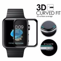 Tempered Glass Full Lem 3D Apple Watch 38 40 42 44mm Anti Gores iWatch