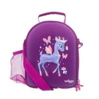 Smiggle Purple Set - Backpack Lunchbag With Strap