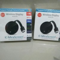 Mirascreen G7 M Chromecast Wifi Wireless Display Dongle Original Best