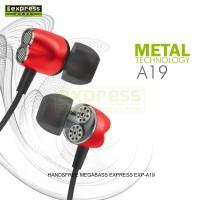 Express Handsfree Megabass Exp-A19 Aksesoris Handphone Original