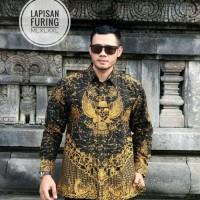 Garuda Pancasila Kemeja Batik Solo Full Furing By Dillan