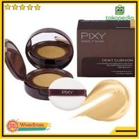 ORIGINAL Pixy Make It Glow Dewy Cushion Bedak Pakai Tempat