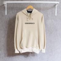 Jaket Sweater New Converse Simple Sablon Hoodie