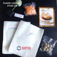 Plastik Vacuum 27 X 32 Cm Vacum Bag, Plastic Vakum Mesin Sealer