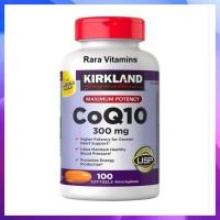 GROSIR KIRKLAND SIGNATURE COQ10 300 MG 100 SOFTGELS SUPLEMEN JATUNG