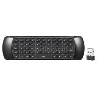 Terbaik Spell Air Mouse Keyboard QWERTY Mini Wireless 2.4GHz dengan