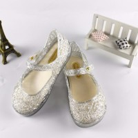 Cute Toddler Baby Kids Jelly Hollow Sandals Flat Shoes Princess Shoes