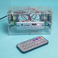 DIY 3W Mini Bluetooth 5.0 Speaker Kit MP3 Music TF Card U Disk Power