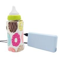 Tas Penghangat Botol Susu Bayi Portable dengan USB untuk Outdoor