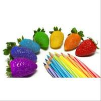 Benih Bibit Biji Rainbow Strawberry Pelangi Seeds Import