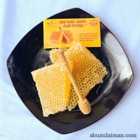 Sarang Madu Asli 1 kg - Madu Sarang Original Segar Fresh Nikmat Leza
