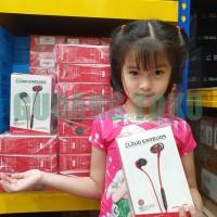 Headset Kingston HyperX Cloud Earbuds In Ear - HX-HSCEB-RD Original