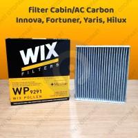 Filter AC Cabin WIX Innova Fortuner Hilux Vios ALtis WIX CARBON