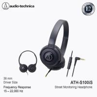 Audio-Technica ATH-S100iS BK ( EX ) BLACK