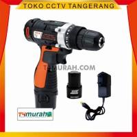 Promo Mesin Obeng - Bor elektrik portable AOTUO 12V+ Bonus 2 Bateray