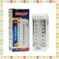 Lampu Darurat / Emergency Lamp Surya SQL L2207 22 SMD LED Rechargeable