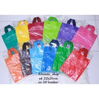 Kantong Plastik Hd Pe 22x26cm Soft Handle (SH) / Shopping Bag Polos