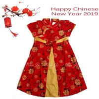 Dress Imlek Anak 5-8 th | Baju Imlek | Xincia sincia cheongsam