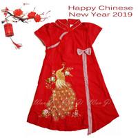 Dress Imlek Anak Baby-12 th| Baju Imlek |Xincia sincia cheongsam Cewek
