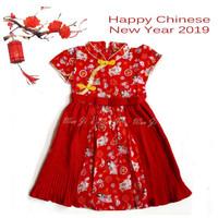 Dress Imlek Anak 1-12 th | Baju Imlek | Xincia sincia cheongsam Unik