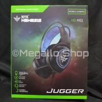 NYK HS-M01 JUGGER - Headset Mobile Gaming - Garansi Resmi
