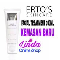 Ertos facial treatment 100ml original sabun cuci muka pembersih wajah