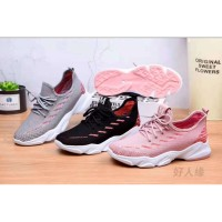 Sepatu Sneakers Wanita Sport Elastis Original M&M Collection 6709
