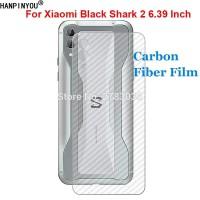 XIAOMI BLACK SHARK 2 STICKER CARBON SKIN ANTI GORES BELAKANG GARSKIN - Putih
