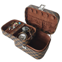 LV DAMIER Jewelry Box and Accesories + Kotak Penyimpanan Cincin Kalung