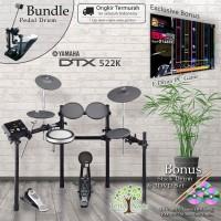 Drum Elektrik Yamaha DTX522 + Pedal / DTX522K / DTX 522 / DTX 522k
