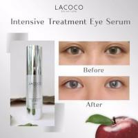 LACOCO Intensive Treatment Eye Serum 15ml Pencera Kelopak Mata Premium