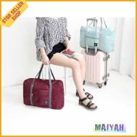 Tas Wanita Pria besar Travel Folding Bag for Sports Gym besar anti air