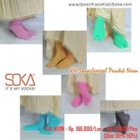 Big Sale Kaos Kaki Soka Jempol Pendek Polos Terbaru