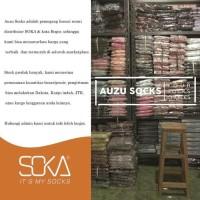 Terpopuler Kaos Kaki Soka Jempol Pendek Wanita Muslimah - Hitam Putih